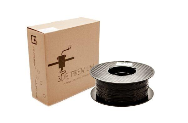 3DE PLA Solid Black kasse