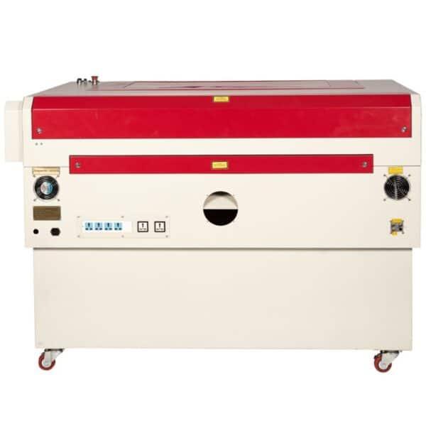 Laser cutter 1290 bagside