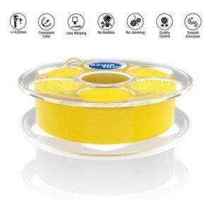 PLA Yellow 3D filament