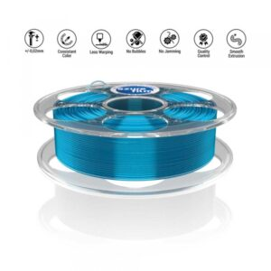 PETG Blue transparent 3D filament