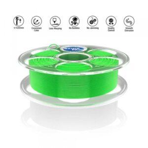 PETG Light Green 3D filament