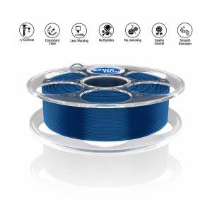 PLA Blue Transparent 3D filament