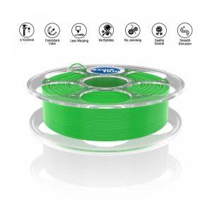 PLA Light Green 3D filament