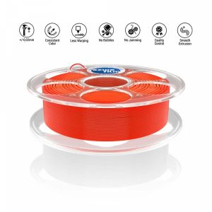 PLA Neon Red 3D filament