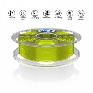 PETG Yellow transparent 3D filament
